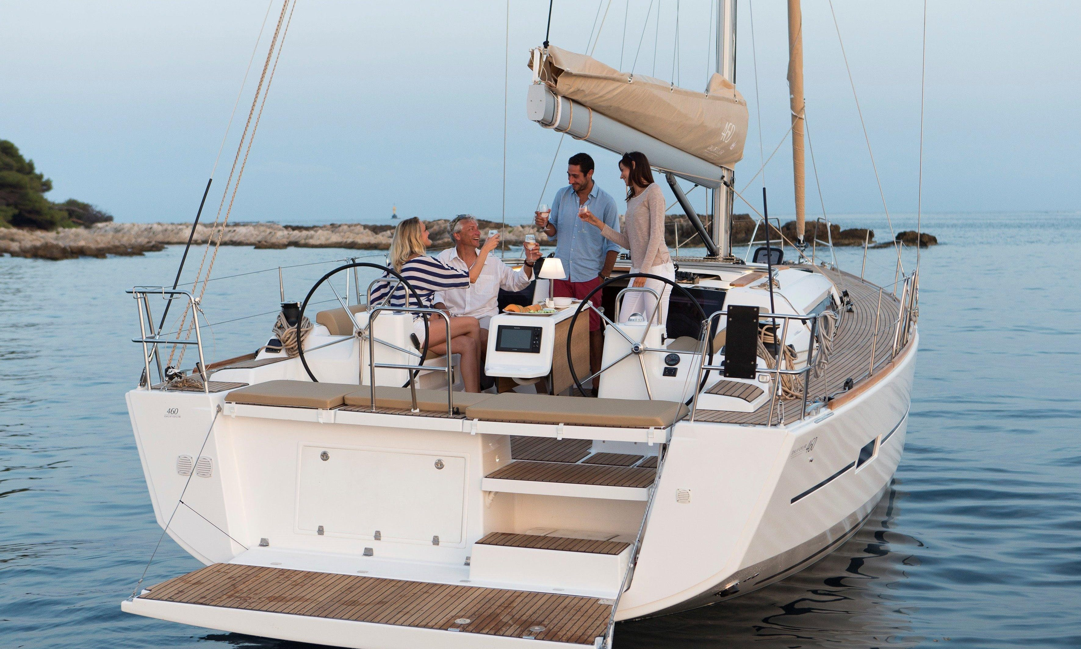 Charter this Dufour 450 sailboat in Cartagena