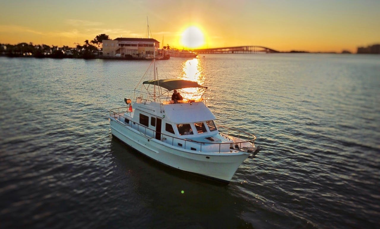 Classic Trawler 41' for rent in Key Biscayne
