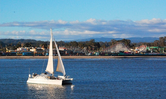 Cruising Catamaran Rental In Santa Cruz