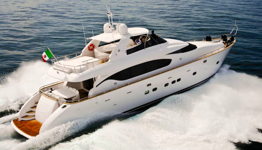 Charter 12 Person Maiora 24 S Fly Power Mega Yacht In Olbia, Italy