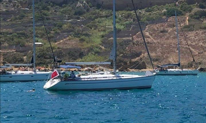 Bavaria 44 Cruising Monohull Charter with Captain Chris in Pietà, Malta