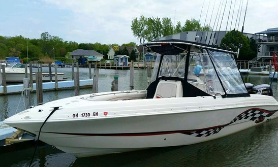8 Hour Charter On A Center Console In Port Clinton, Ohio