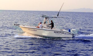 Center Console Fishing Charters in El Puerto, Mexico