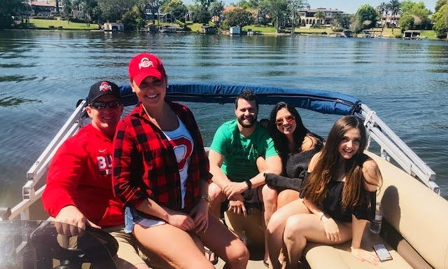 Party Barge Pontoon in Winter Park