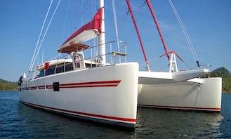 Luxury Sailing Catamaran Charter around the Islands (4 hour minimum)