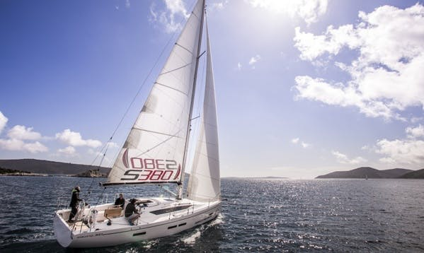Experience Cruising on This Beautiful Salona 380 Sailing Boat Charter in Palma, Spain