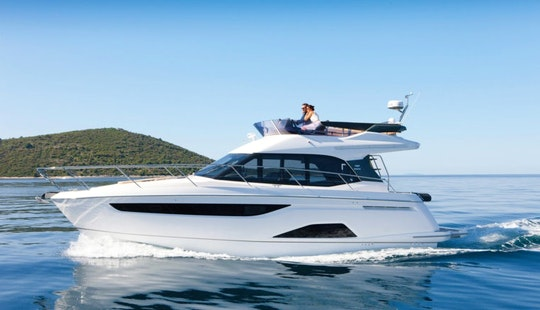 Charter This 10 Persons Bavaria R40 Fly Motor Yacht Charter In Palma, Spain
