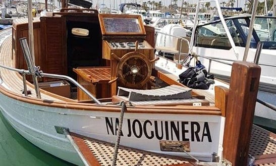 Sailing Boat Trips With A Professional Skipper In Alcúdia, Spain