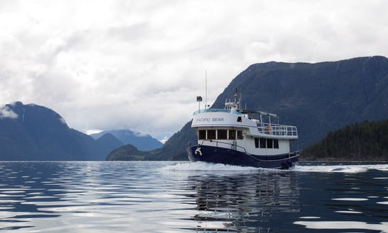 Explore The West Coast On A Little Blue Boat!