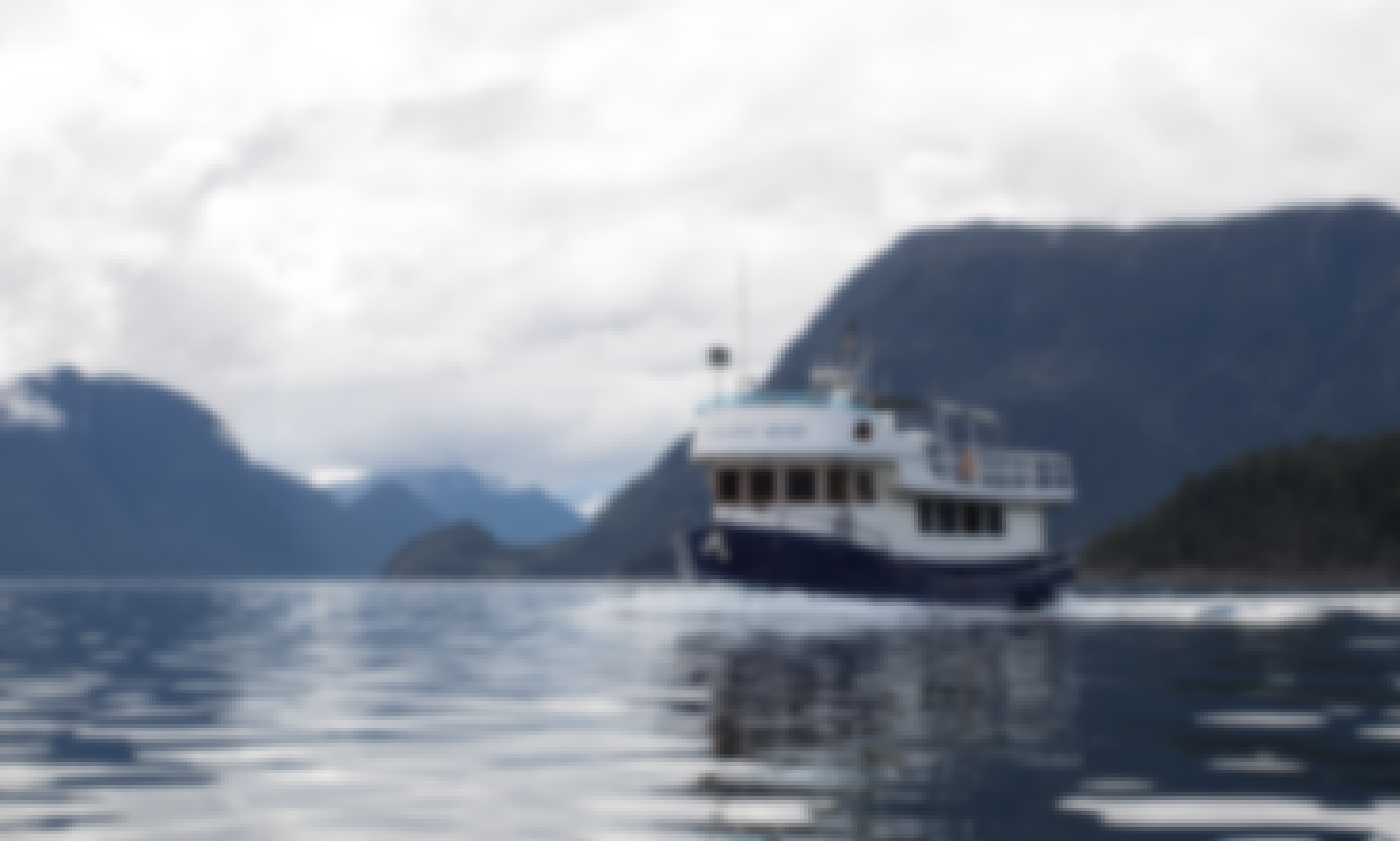 "Explore the West Coast and Desolation Sound on our ""Little Blue Boat""!"