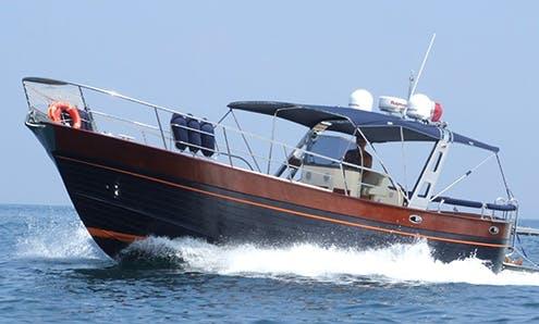 Futura 38 Il Milionario Motor Yacht For Charter in Sorrento Campania