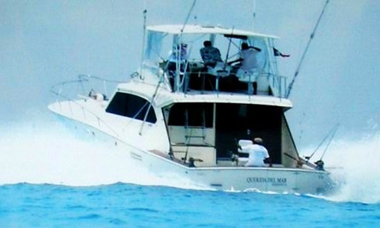 Deep Sea Fishing Charter In Cancún, Mexico On 48' Querida Sport Fisherman