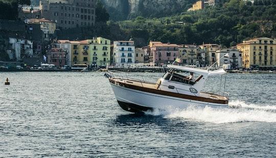 25' Sparviero 700 Emerald Cuddy Cabin For Charter In Sorrento, Campania