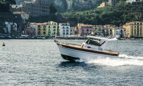 25' Sparviero 700 Emerald Cuddy Cabin For Charter In Sorrento, Campania