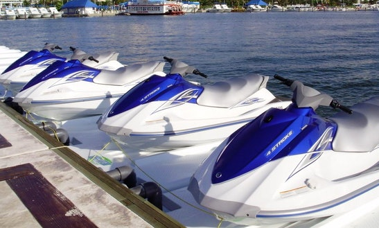 Experience The Thrill Of Speed And Have Fun On Waverunner Jet Ski In Cancún, Mexico