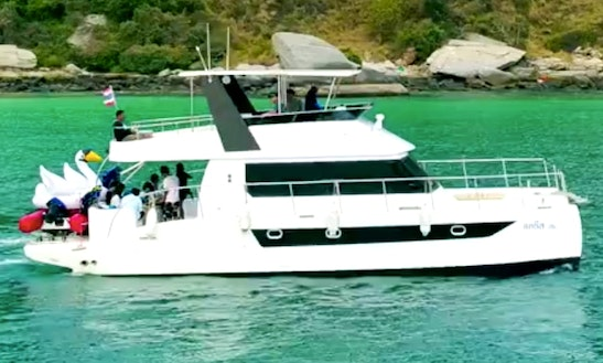 43' Power Catamaran Rental In Pattaya Thailand