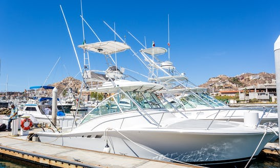 Nice Boat Available For Fishing Charter In Baja California Sur, Mexico