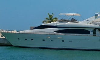 Exotic & Private Tours on Luxury VIP 85' Azimut Power Mega Yacht in Cancún, Mexico