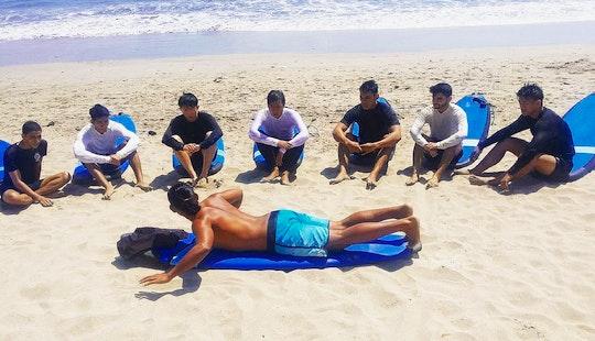 Surf Lesson In Kuta Legian Bali
