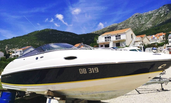 Deck Boat Rental In Sustjepan