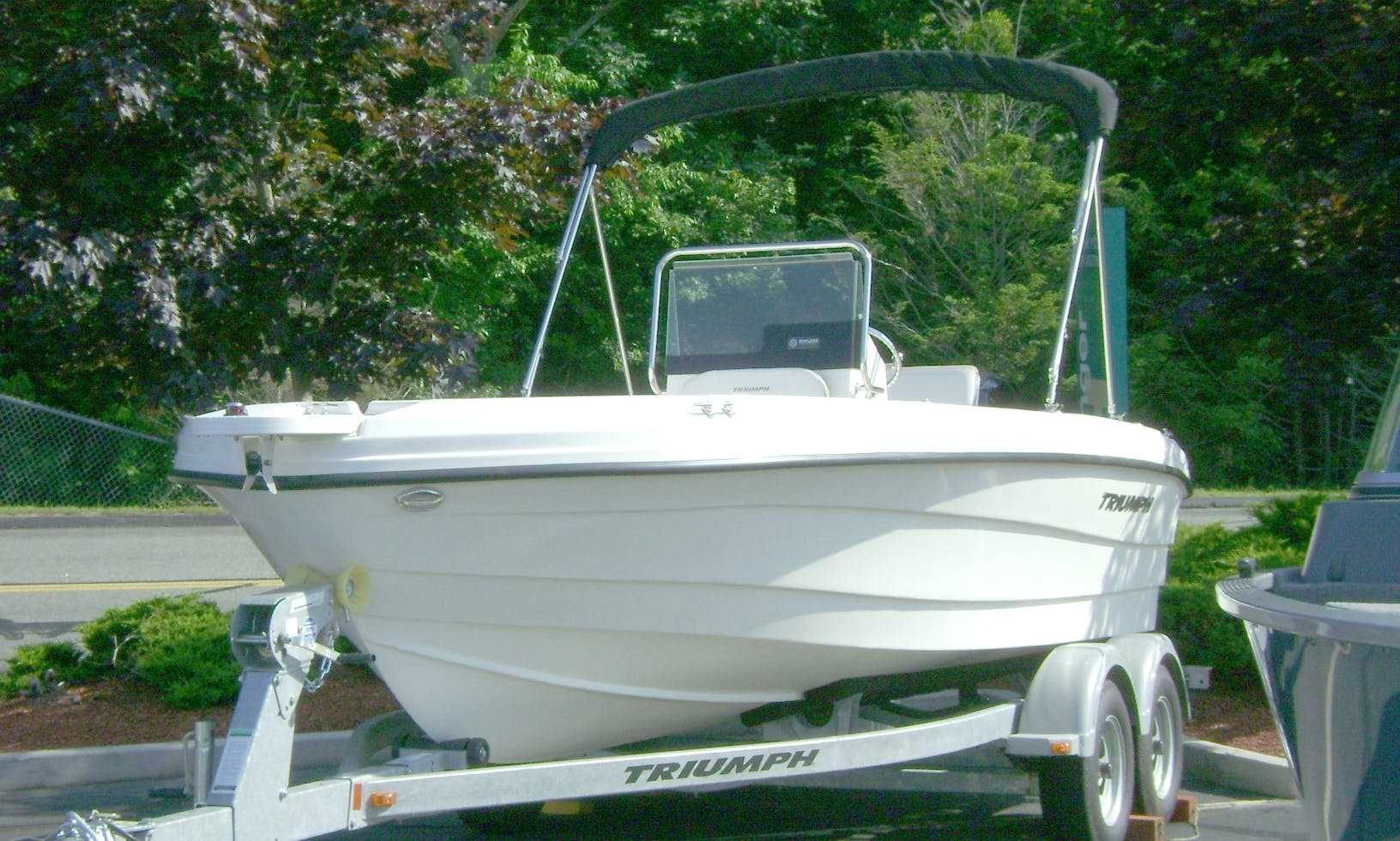 Rent 19' Triumph Center Console In Water Street, Guilford