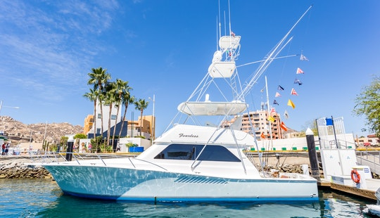 51' Fearless Sport Fisherman Available For Fishing Charter In Baja California Sur, Mexico
