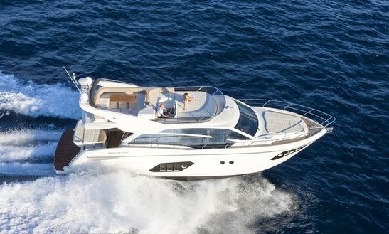 Charter This 52' Absolute Fly Power Mega Yacht In Palma, Spain For 8 Persons