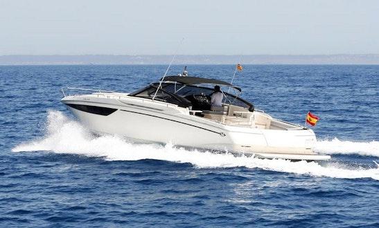 Enjoy Cruising On 43' Baia Motor Yacht Charter In Palma, Spain