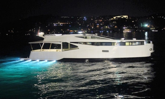 Experience Royalty Aboard Queen Motor Yacht In İstanbul, Turkey