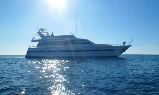 Eser Yat Kotra Yap Is An 86′ Power Mega Yacht Charter In Palma, Balears