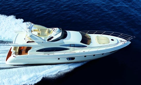 21.6m Azimut  Power Mega Yacht For Charter In Palma, Balears