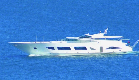 40 Pax Luxurious Power Mega Yacht Charter In İstanbul, Turkey