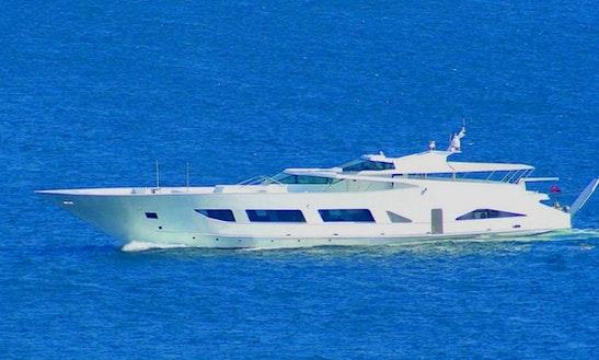 40 Pax Luxurious Power Mega Yacht Charter In İstanbul, Turkey