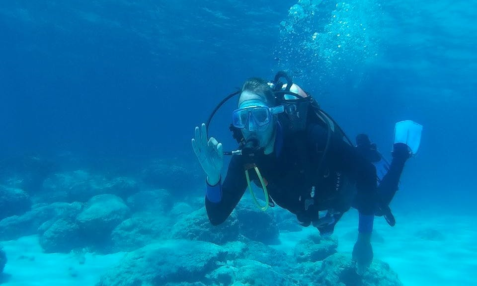 Get Ready for a once in a life time Diving in Ammochostos Cyprus