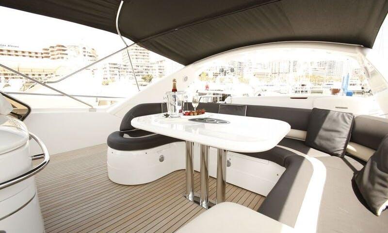 Luxury Princess 23 Power Mega Yacht Charter in Palma, Balears
