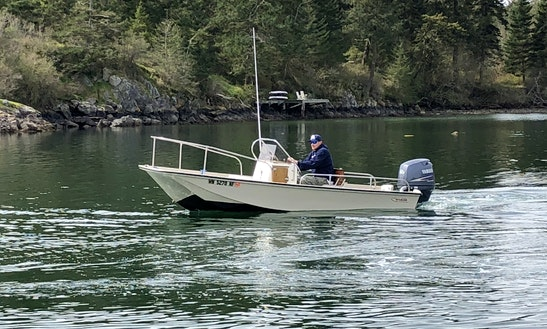 Island Hopping In Friday Harbor On 17' Boston Whaler Montauk