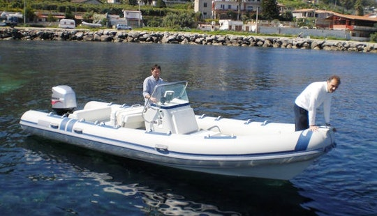 Hire A Joker Inflatable Boat For 7 People In Castellammare Del Golfo