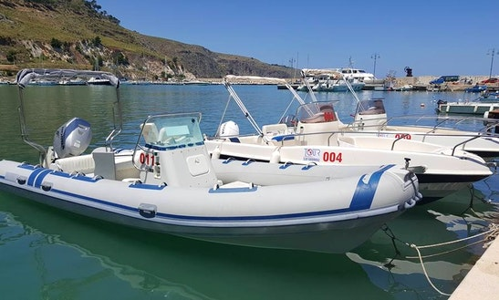 Rent A Gommone Inflatable Boat With License In Castellammare Del Golfo