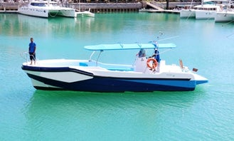 44' Inboard Propulsion Yacht for Rent in Seychelles
