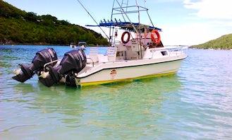Enjoy Fishing in Cuddy Cabin in Victoria, Seychelles