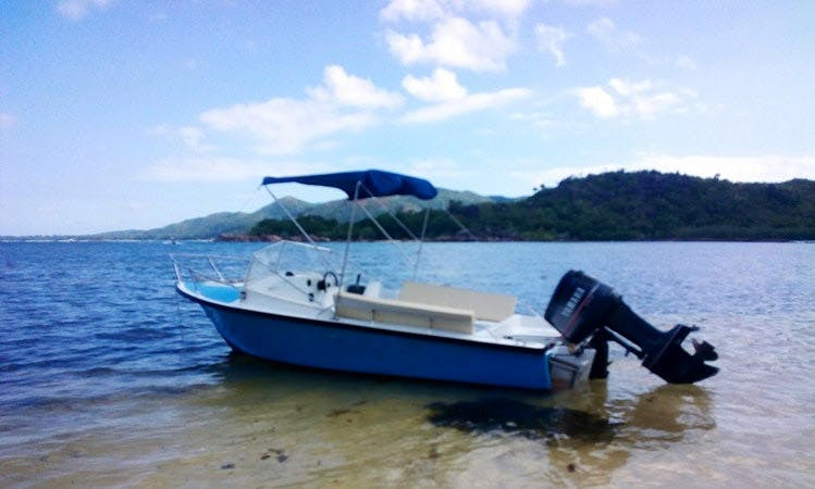Charter a Deck Boat in Baie Ste Anne, Seychelles