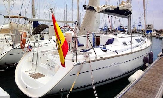 Charter 37' Sun Odyssey Cruising Monohull In Las Palmas, Spain