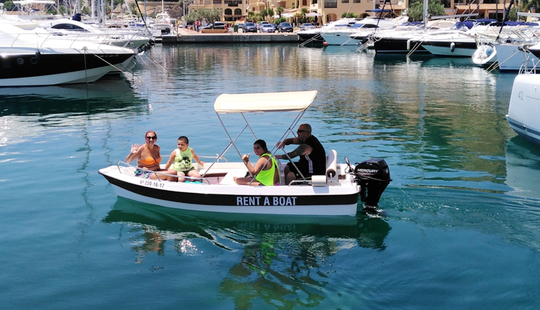 Spacious, Comfortable And Easy-to-drive Boat Rental In Altea, Spain