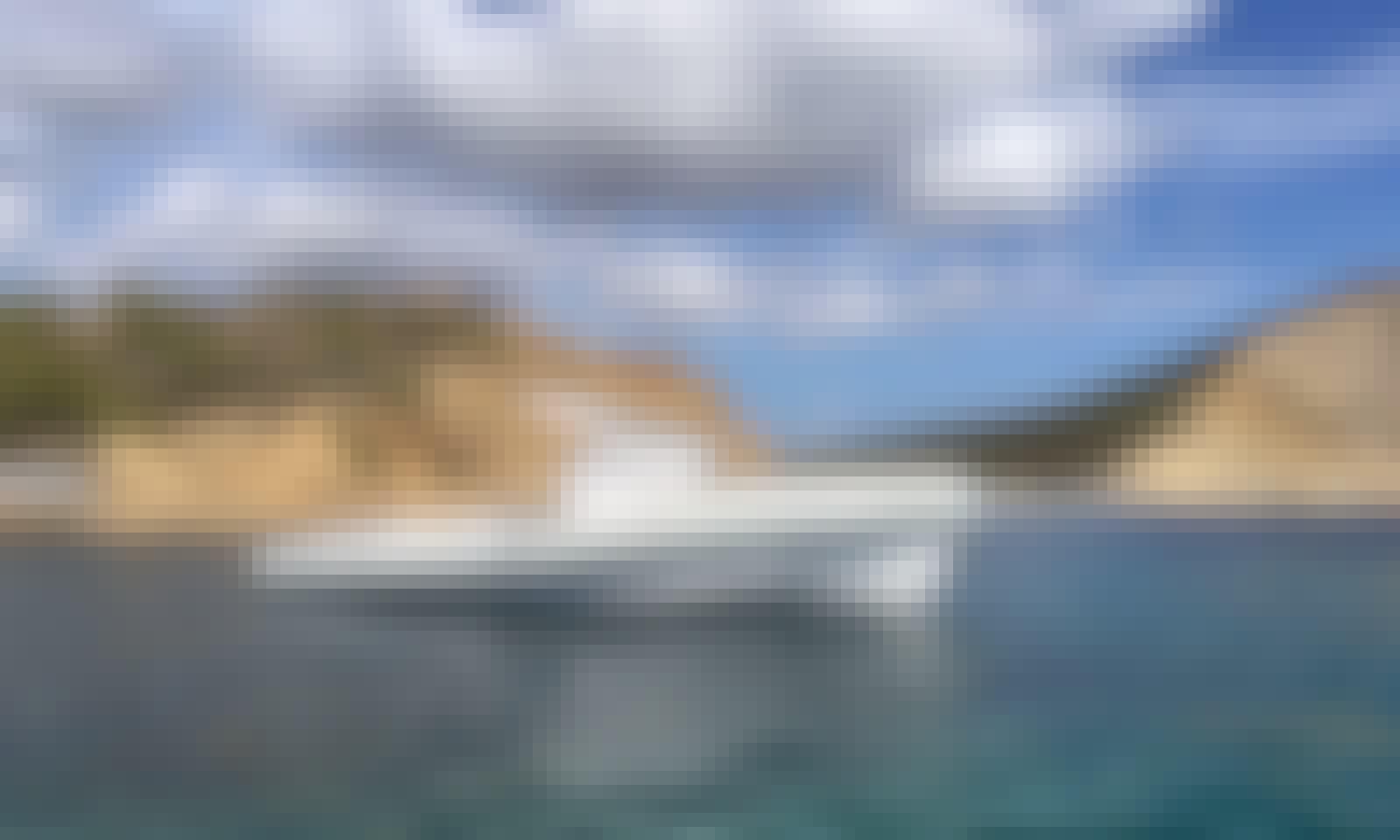 Charter This 8 Persons Comfortable 37' Pirelli Pzero Rigid Inflatable Boat in Eivissa, Spain