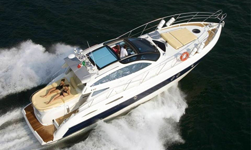 "Explore Amalfi, Italy On A 47ft ""Elite"" Cranchi Motor Yacht"