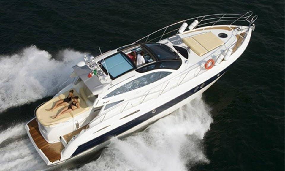 """Explore Amalfi, Italy On A 47ft """"Elite"""" Cranchi Motor Yacht"""