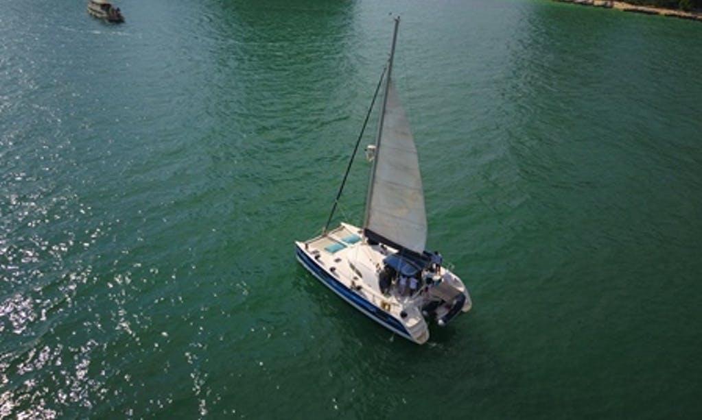 Lagoon Cruising Catamaran Sleep Aboard Charter in Krabi, Thailand