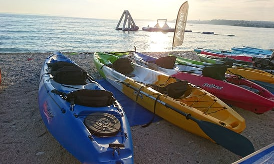 Rent A Kayak On Krk Island, Porat, Vantacici, Croatia