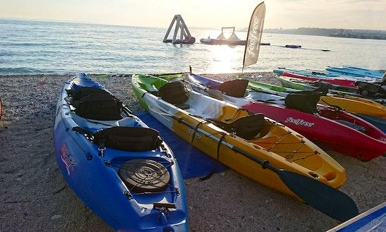 Rent A Kayak On Krk Island, Porat, Vantacici, Croatia