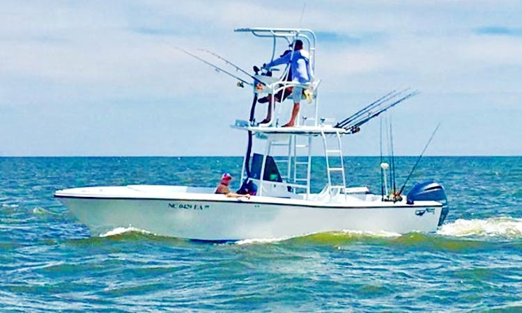 Fishing Charter in Outer Banks of North Carolina with Capt. Clay